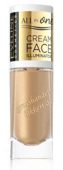 ALL in ONE Cream Face Illuminator, Gold