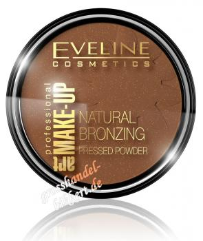 ART Make-up natural bronzing Puder, glänzend