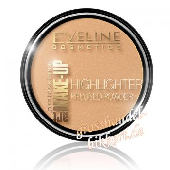Art Make-up HIGHLIGHTER Puder, Golden