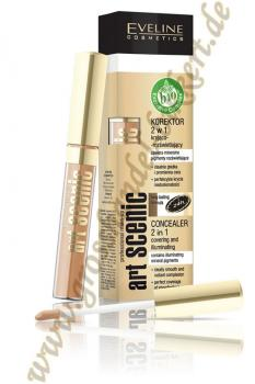 Art Scenic Professional Make-up Gesichtskorrektor 2 in 1, Nude