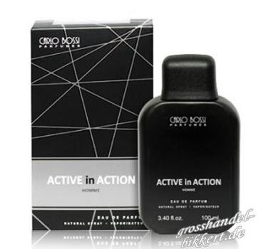 Eau de Parfum ACTIVE in ACTION SILVER, 100 ml