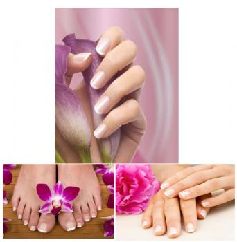 French Manicure Super Duett Set 3, 2x5 ml