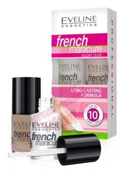 French Manicure Super Duett Set 5, 2x5 ml